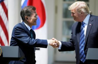 korejcy juga protiv vizita v stranu trampa